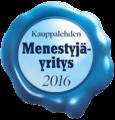 Menestyjä merkki 2016